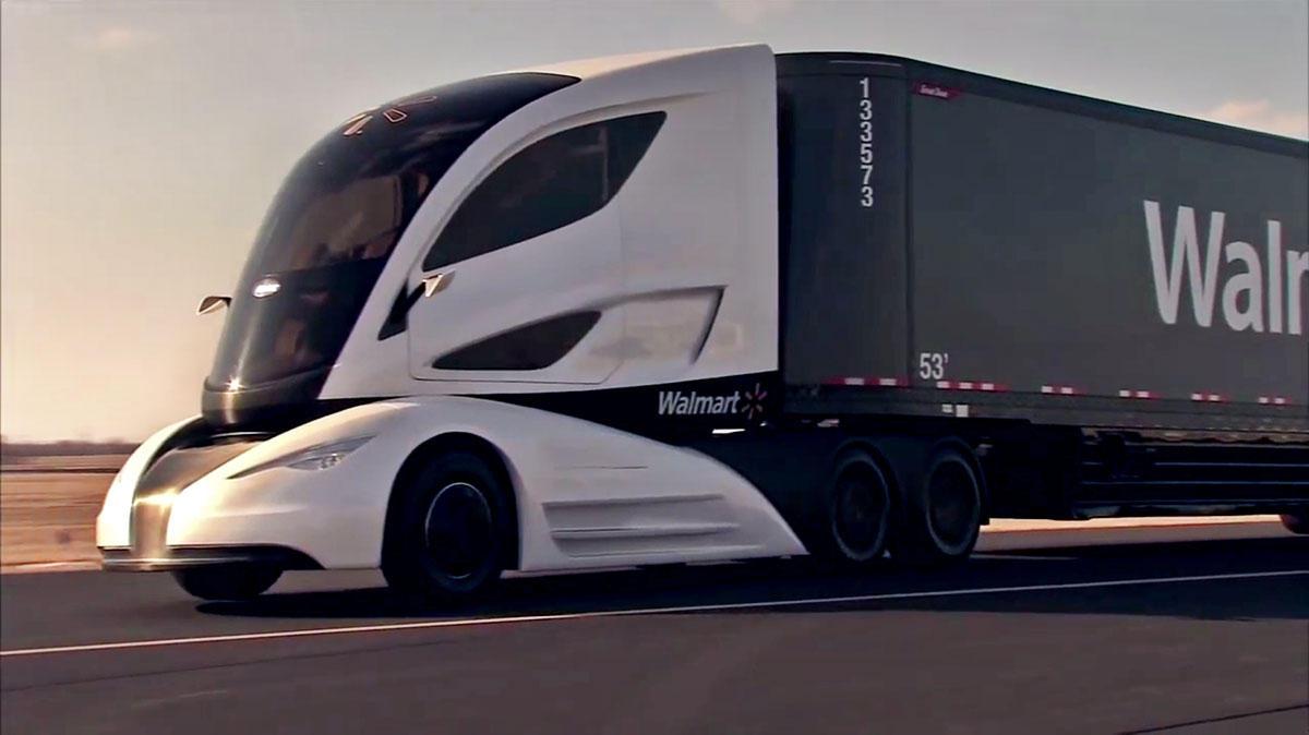 Is Walmart S Wave Concept Truck The Fuel Efficient Future